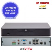 NVR 4 canale UNIVIEW