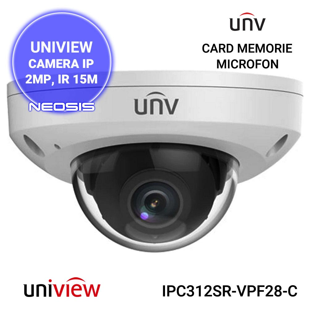 Camera supraveghere IP UNIVIEW UNV IPC312SR-VPF28-C