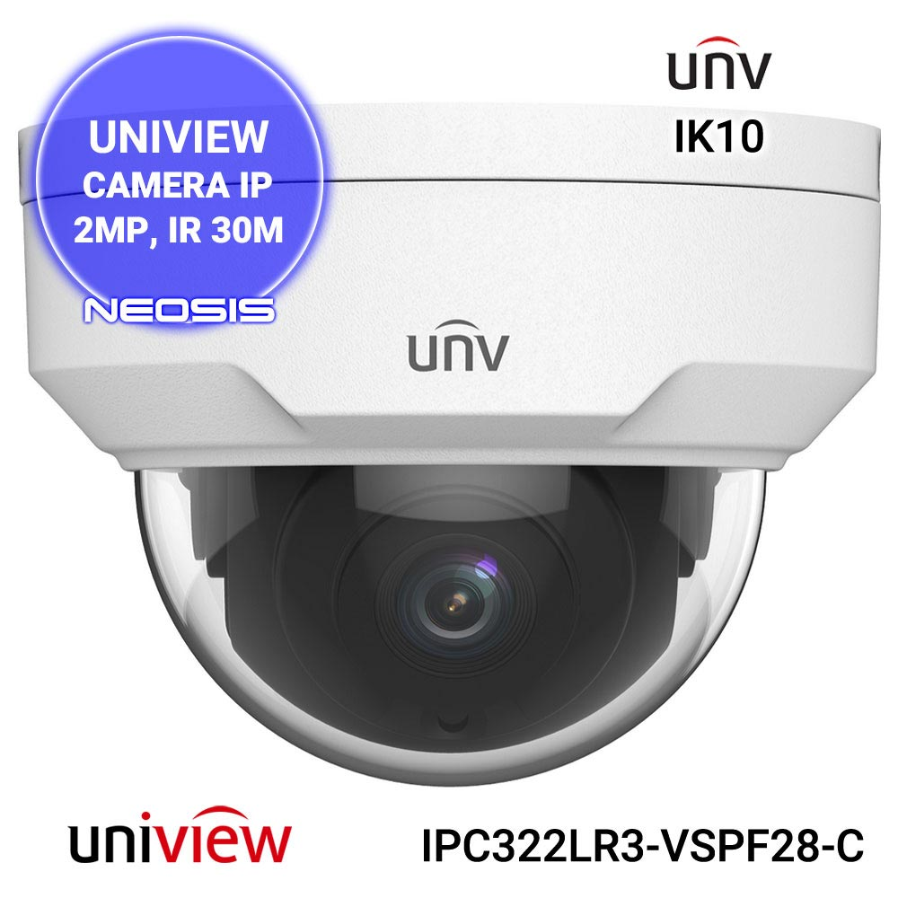 Camera supraveghere IP UNIVIEW UNV IPC322LR3-VSPF28-C