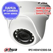 Camera IP DAHUA IPC-HDW1230S-S4 - Full HD, IR 30m, lentila 105grd