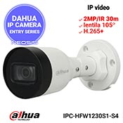 Camera IP DAHUA IPC-HFW1230S1-S4 - Full HD, IR 30m, lentila 105grd