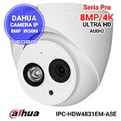 Camera IP 8MP/4K DAHUA IPC-HDW4831EM-ASE
