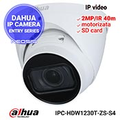 Camera IP DAHUA IPC-HDW1230T-ZS-S4 - Full HD, motorizata, SD card