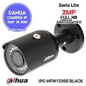 Camera IP 2MP DAHUA IPC-HFW1230S black