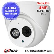 Camera IP 4MP ePoE DAHUA IPC-HDW4431EM-ASE