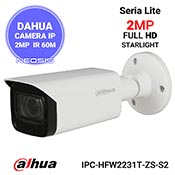 Camera IP 2MP Starlight DAHUA IPC-HFW2231T-ZS-S2