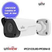 Camera IP UNIVIEW UNV IPC2122LR3-PF28M-D