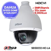 Camera speed dome DAHUA SD50232-HC-LA - 2MP, Starlight