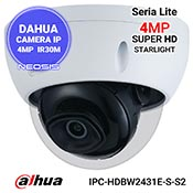 Camera IP 4MP Starlight DAHUA IPC-HDBW2431E-S-S2