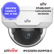 Camera supraveghere IP UNIVIEW UNV IPC322ER3-DUVPF28-C