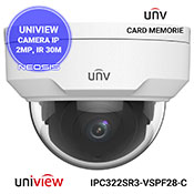 Camera supraveghere IP UNIVIEW UNV IPC322SR3-VSPF28-C