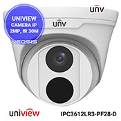 Camera supraveghere IP UNIVIEW UNV IPC3612LR3-PF28-D