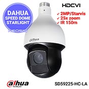 Camera speed dome DAHUA SD59225-HC-LA - Full HD