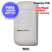 Detector PIMA DPS187 - wireless 868MHz, pet-immune