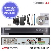 DVR 8 canale 5MP HIKVISION DS-7208HUHI-K1