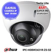 Camera IP 4MP Starlight motorizata DAHUA IPC-HDBW2431R-ZS-S2
