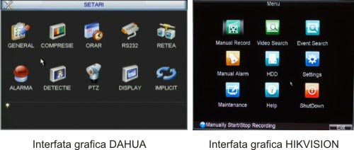 interfata dvr dahua